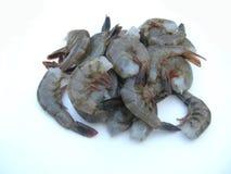 γαρίδες ακατέργαστες Στοκ Εικόνα
