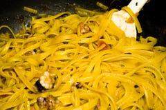 γαρίδες ζυμαρικών polyp στοκ εικόνες