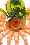 γαρίδες κοκτέιλ Στοκ εικόνες με δικαίωμα ελεύθερης χρήσης