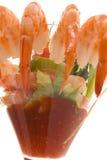 γαρίδες κοκτέιλ Στοκ Εικόνες