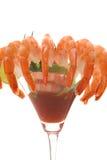 γαρίδες κοκτέιλ Στοκ φωτογραφία με δικαίωμα ελεύθερης χρήσης