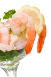 γαρίδες κοκτέιλ Στοκ εικόνα με δικαίωμα ελεύθερης χρήσης