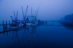 γαρίδες νύχτας βαρκών Στοκ εικόνα με δικαίωμα ελεύθερης χρήσης