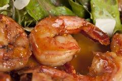 γαρίδες ορεκτικών yummy Στοκ Εικόνες