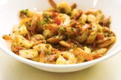 γαρίδες πικάντικες Στοκ Εικόνα