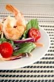 γαρίδες σαλάτας στοκ φωτογραφίες