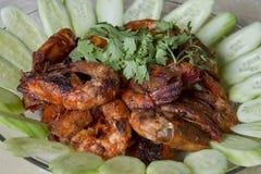 γαρίδες τσίλι sambal Στοκ εικόνα με δικαίωμα ελεύθερης χρήσης
