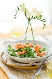 γαρίδες risotto σπαραγγιού Στοκ εικόνες με δικαίωμα ελεύθερης χρήσης