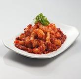 γαρίδες sambal Στοκ εικόνες με δικαίωμα ελεύθερης χρήσης