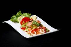 Γαρίδες Woon Sen Yum στοκ εικόνα