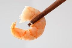 Γαρίδα Chopstick Στοκ Φωτογραφία