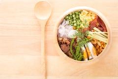 γαρίδες ρυζιού συρραφών &tau Στοκ φωτογραφία με δικαίωμα ελεύθερης χρήσης