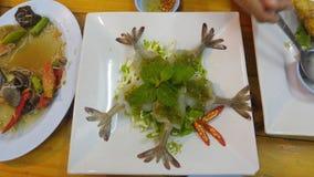 Γαρίδες στη σάλτσα ψαριών Στοκ φωτογραφία με δικαίωμα ελεύθερης χρήσης