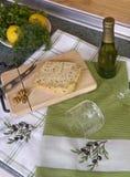 γαστρονομική κουζίνα τρ&omi Στοκ Φωτογραφίες
