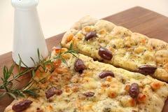 Γαστρονομική πίτσα Στοκ Εικόνες