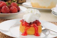 Γαστρονομική φράουλα shortcake Στοκ φωτογραφίες με δικαίωμα ελεύθερης χρήσης