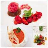 γαστρονομικός θρεπτικός τροφίμων έννοιας Στοκ εικόνες με δικαίωμα ελεύθερης χρήσης