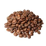Γαστρονομικός καφές της Αιθιοπίας Yirgacheffe στο άσπρο υπόβαθρο στοκ εικόνες με δικαίωμα ελεύθερης χρήσης