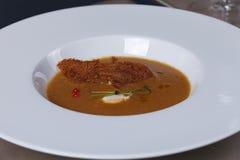γαστρονομικό γεύμα Στοκ Φωτογραφία