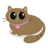 γατάκι κινούμενων σχεδίων Στοκ εικόνες με δικαίωμα ελεύθερης χρήσης