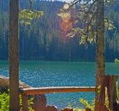 Γαλήνια λίμνη Στοκ φωτογραφίες με δικαίωμα ελεύθερης χρήσης