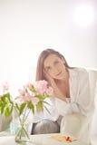 Γαλήνια γυναίκα στοκ φωτογραφία με δικαίωμα ελεύθερης χρήσης