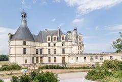 Γαλλία Άποψη του κάστρου Chambord Περιοχή παγκόσμιων κληρονομιών της ΟΥΝΕΣΚΟ, 1519-1547 έτη Στοκ εικόνες με δικαίωμα ελεύθερης χρήσης