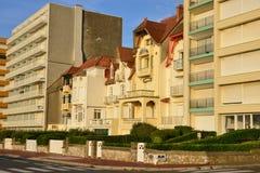 Γαλλία, γραφική πόλη LE Touquet στο Nord-Pas-de-Calais Στοκ Εικόνες