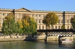 Γαλλία, γραφικό Pont des Arts στο Παρίσι Στοκ φωτογραφίες με δικαίωμα ελεύθερης χρήσης