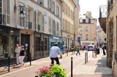 Γαλλία, η γραφική πόλη Αγίου Ζερμαίν EN Laye Στοκ εικόνες με δικαίωμα ελεύθερης χρήσης