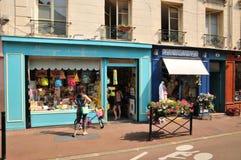 Γαλλία, η γραφική πόλη Αγίου Ζερμαίν EN Laye Στοκ Φωτογραφία