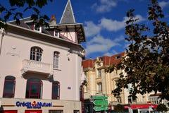 Γαλλία, η γραφική πόλη LE Touquet Στοκ Εικόνες