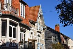 Γαλλία, η γραφική πόλη LE Touquet Στοκ Φωτογραφίες