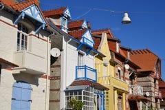 Γαλλία, η γραφική πόλη LE Touquet Στοκ φωτογραφία με δικαίωμα ελεύθερης χρήσης