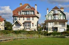 Γαλλία, η γραφική πόλη Neufchatel Hardelot Στοκ εικόνα με δικαίωμα ελεύθερης χρήσης