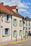 Γαλλία, η γραφική πόλη Vernouillet Στοκ Εικόνες
