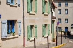 Γαλλία, η γραφική πόλη Vernouillet Στοκ φωτογραφία με δικαίωμα ελεύθερης χρήσης