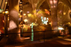 Γαλλία, ιστορικό κάστρο Pierrefonds σε Picardie Στοκ φωτογραφίες με δικαίωμα ελεύθερης χρήσης