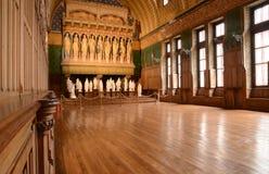 Γαλλία, ιστορικό κάστρο Pierrefonds σε Picardie Στοκ εικόνα με δικαίωμα ελεύθερης χρήσης