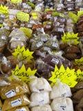 Γαλλία, καρυκεύματα στην αγορά Sainte Anne στη Μαρτινίκα Στοκ Εικόνα