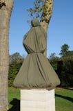 Γαλλία, μαρμάρινο άγαλμα στο πάρκο παλατιών των Βερσαλλιών Στοκ φωτογραφία με δικαίωμα ελεύθερης χρήσης