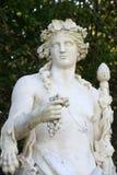 Γαλλία, μαρμάρινο άγαλμα στο πάρκο παλατιών των Βερσαλλιών Στοκ Εικόνα