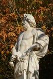 Γαλλία, μαρμάρινο άγαλμα στο πάρκο παλατιών των Βερσαλλιών Στοκ εικόνα με δικαίωμα ελεύθερης χρήσης