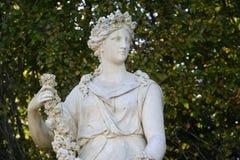 Γαλλία, μαρμάρινο άγαλμα στο πάρκο παλατιών των Βερσαλλιών Στοκ φωτογραφίες με δικαίωμα ελεύθερης χρήσης