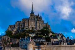 Γαλλία. Νορμανδία. Mont Saint-Michel. Στοκ Φωτογραφία