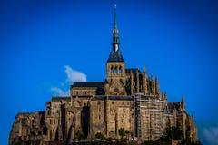 Γαλλία. Νορμανδία. Mont Saint-Michel. Στοκ εικόνα με δικαίωμα ελεύθερης χρήσης