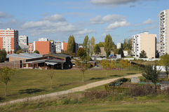 Γαλλία, πάρκο Sautour σε Les Mureaux Στοκ Φωτογραφίες