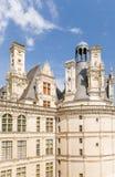Γαλλία Πρόσοψη της συντήρησης του κάστρου Chambord, 1519 - 1547 έτη Πιθανώς το πρόγραμμα του Leonardo Da Vinci Στοκ φωτογραφία με δικαίωμα ελεύθερης χρήσης