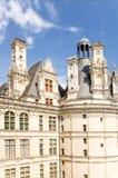 Γαλλία Πρόσοψη της συντήρησης του κάστρου Chambord, 1519 - 1547 έτη Πιθανώς το πρόγραμμα του Leonardo Da Vinci Κατάλογος της ΟΥΝΕ Στοκ Εικόνες
