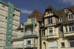 Γαλλία, πόλη της κηλίδας ηλίου LE Touquet Παρίσι στο Nord-Pas-de-Calais Στοκ φωτογραφία με δικαίωμα ελεύθερης χρήσης